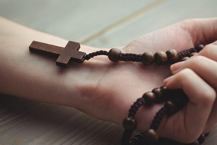 Hacer un rosario por lo menos 1 vez a la semana es bueno