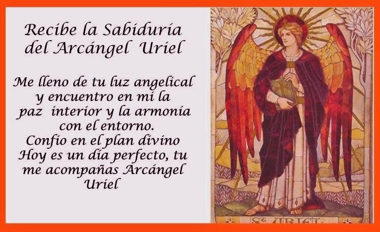 La oración para el Arcángel Uriel