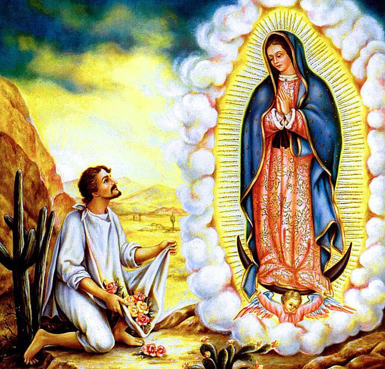 Plegarias a la virgen de Guadalupe