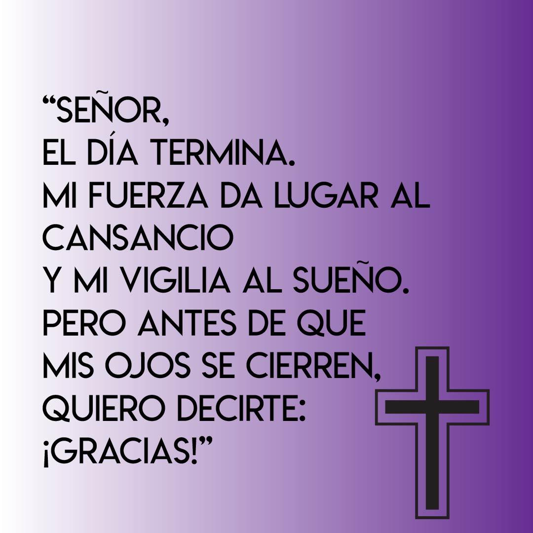 Oraciones cortas para Dios