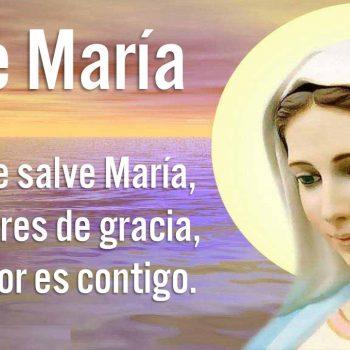 La oración Ave María sana heridas