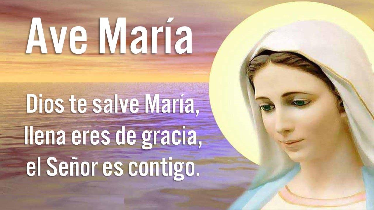 Oración Ave María
