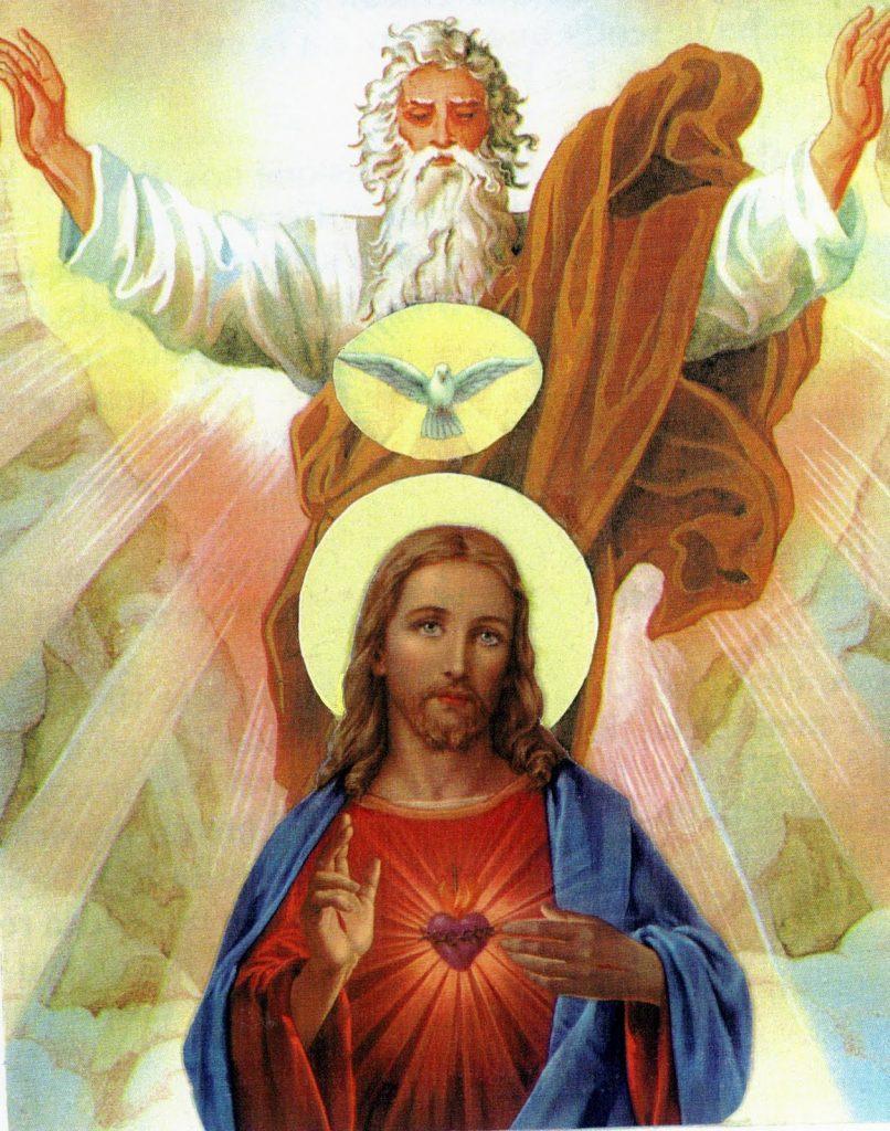 La oración a la divinar providencia es muy usada.