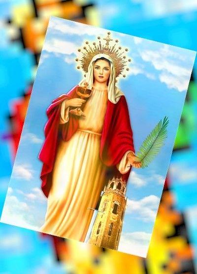 La oración a santa bárbara tiene muchos seguidores