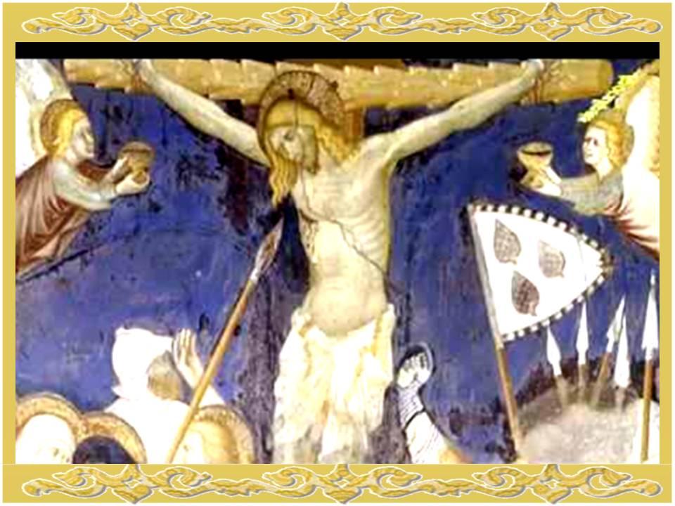 La oración de la sangre de Cristo es muy usada