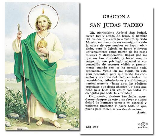 Aprende todo sobre la Oración a San Judas Tadeo y su importancia