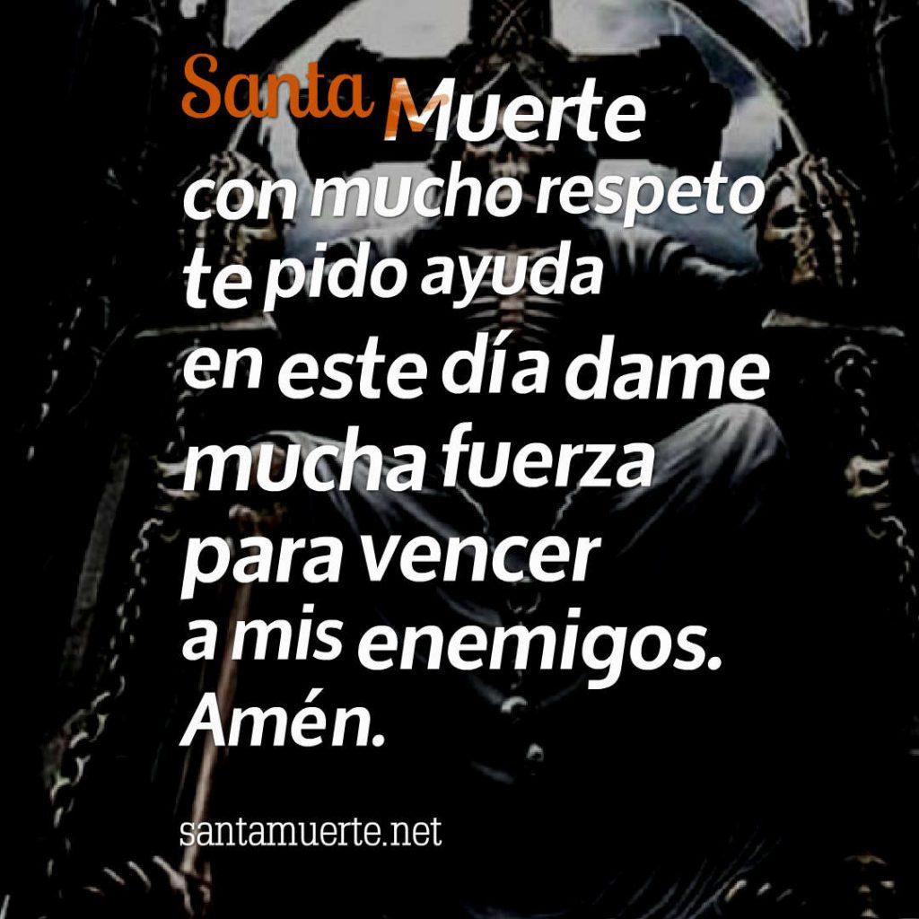 oración de la Santa Muerte
