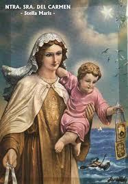 Las oraciones de la virgen del carmen cuenta con una gran historia